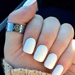 Uñas blancas normales